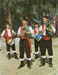 Galician bagpipe and drum group