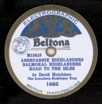 Beltona 1666.  Recorded April 1931.  This label style introduced about November 1930.