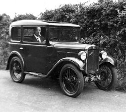Walter's Austin Seven, photo courtesy Chris Holderness