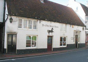 The Black Horse, Rottingdean.