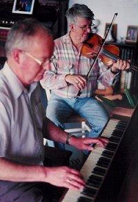 Joe Peter with Gordon MacLean