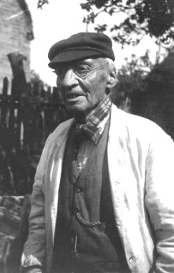 Henry Sturch, Shipston-on-Stour, 1909, photographed by Cecil James Sharp