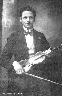 Billy Harrison c1929, from Musical Traditions.